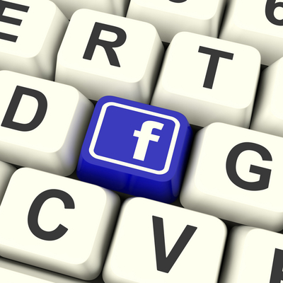 facebook keyboard - social media and home selling