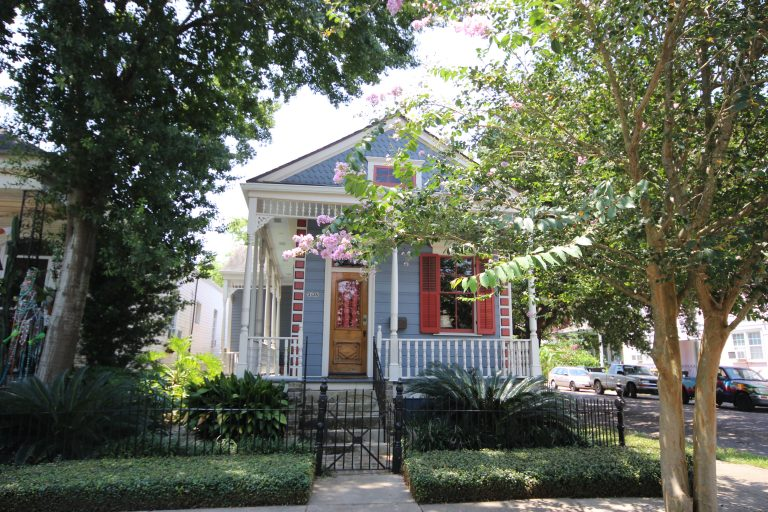 New Orleans shotgun home