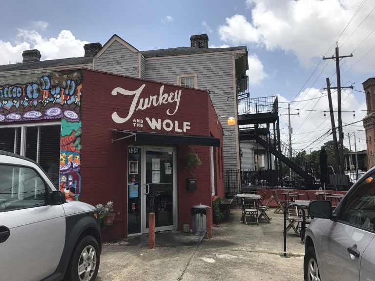 turkey and the wolf restaurant