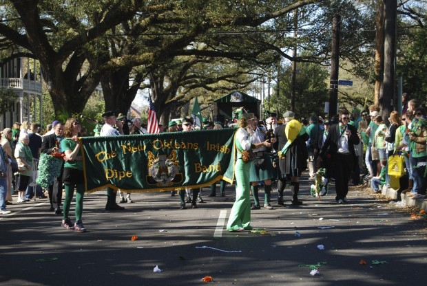 St Patrick's Parade, Irish Channel New Orleans LA