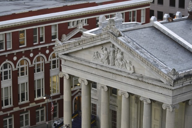 Gallier Hall, New Orleans LA