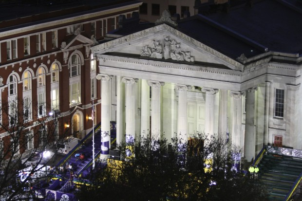 Gallier Hall at Night