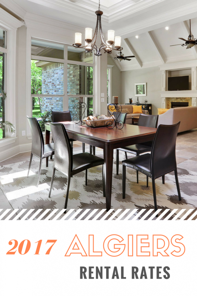Algiers rental rates - New Orleans West Bank real estate