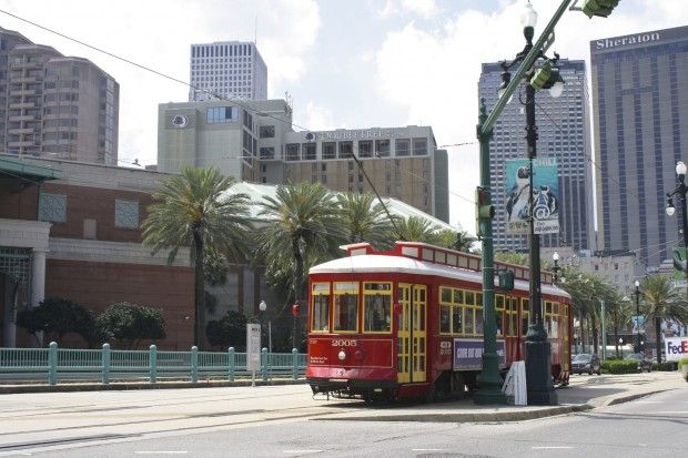 New Orleans streetcars - Canal Street