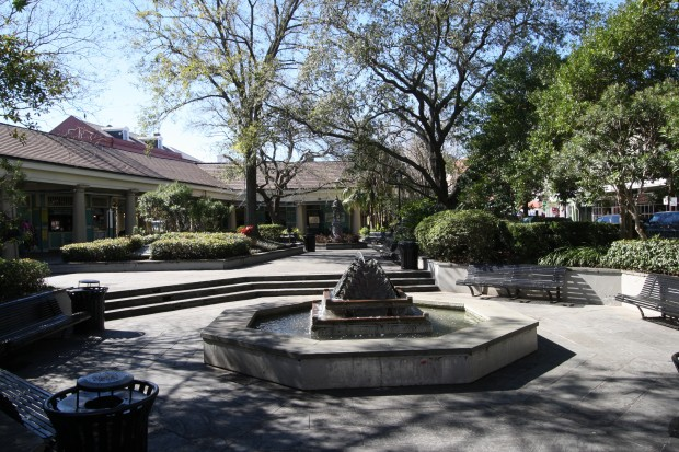 Fountain in Latrobe Park | New Orleans