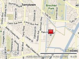 Map picture of Park Place Gretna LA