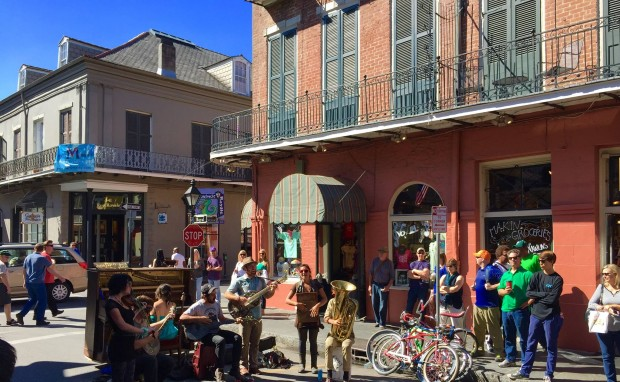 Musicians on Royal St, New Orleans LA