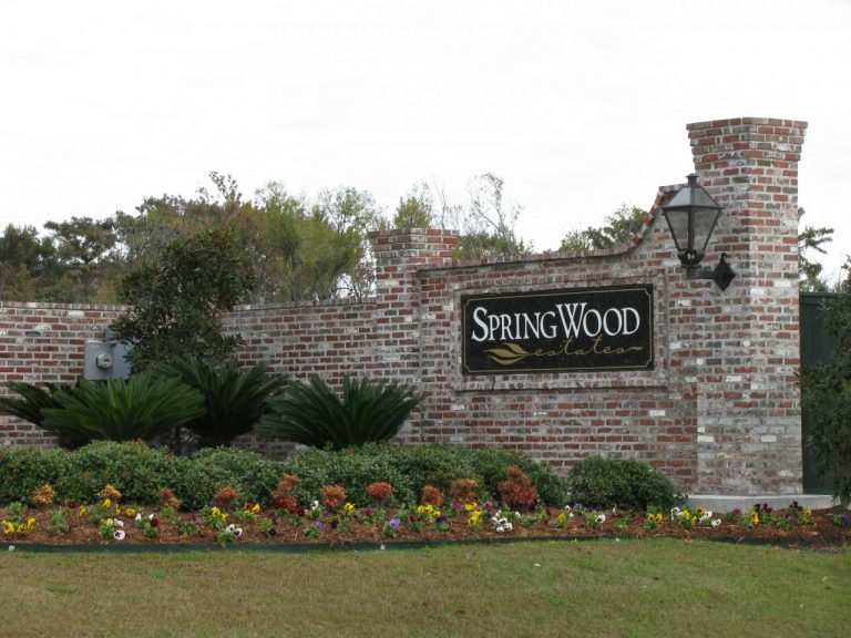 springwood estates neighborhood belle chasse la