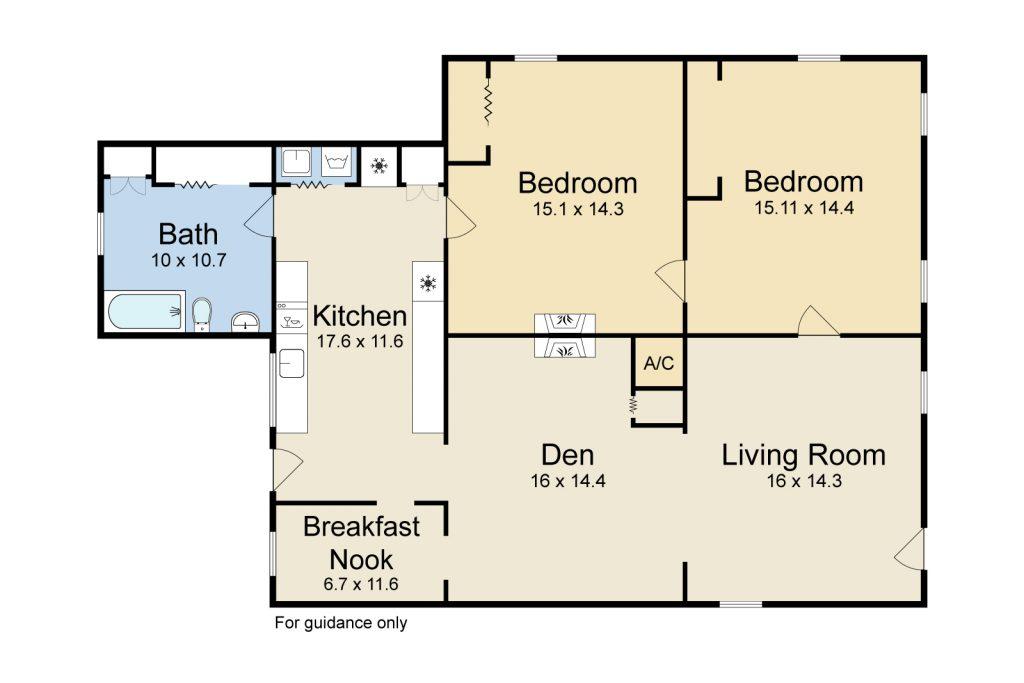 3138 Constance St New Orleans LA floorplan