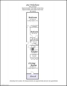 3837 Delachaise St floorplan