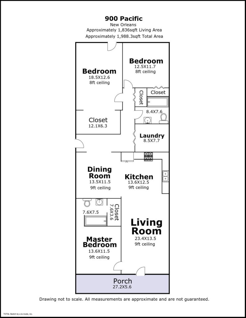 900 Pacific Ave floor plan