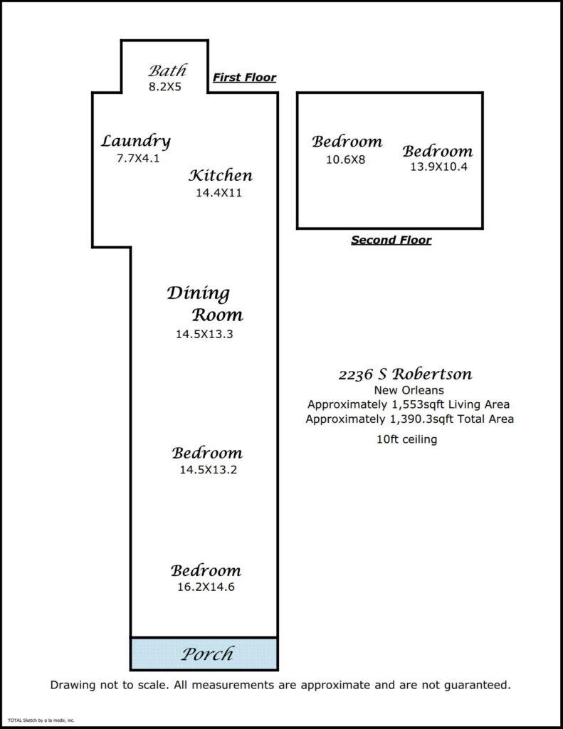 2236 S Robertson St floorplan