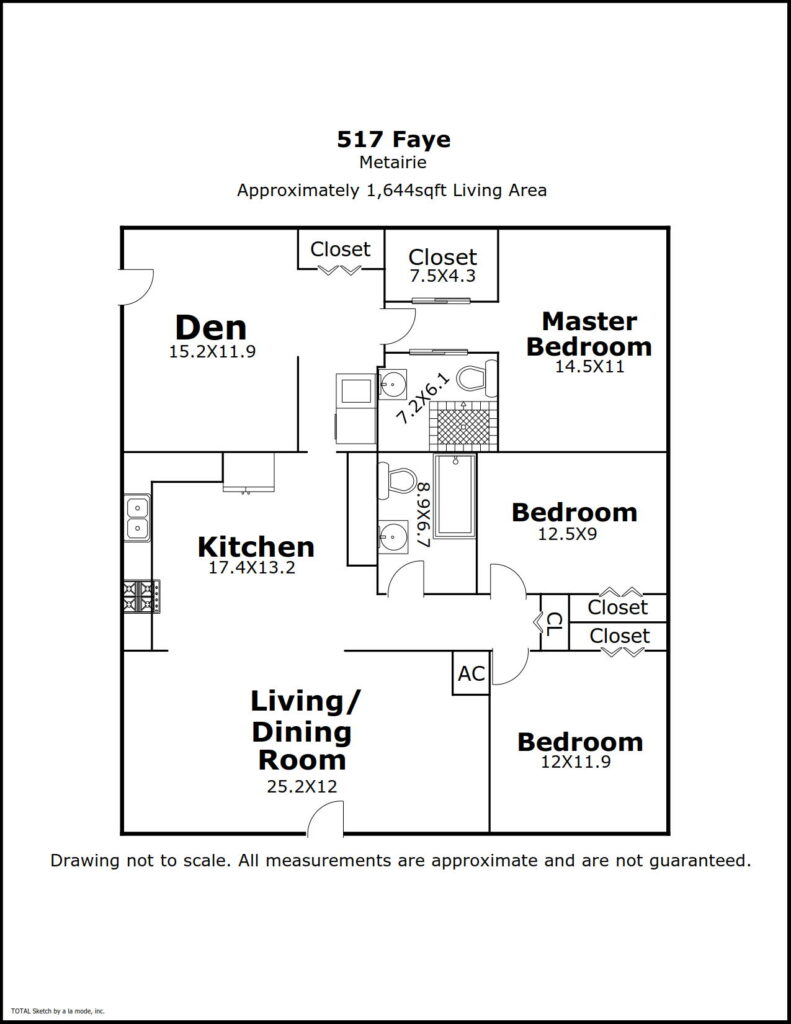 517 Faye Ave floorplan