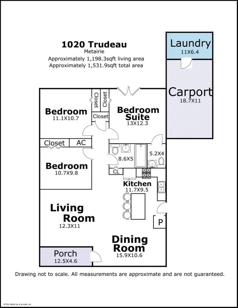 1020 Trudeau floorplan