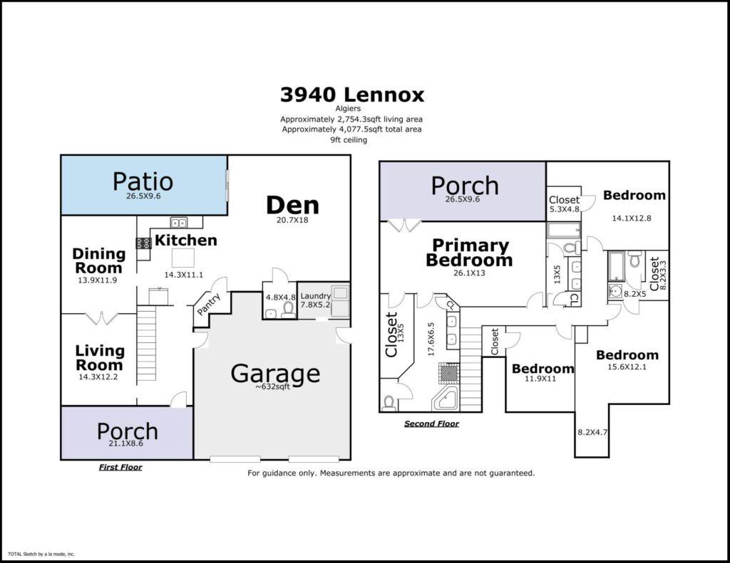 3940 Lennox Blvd New Orleans LA