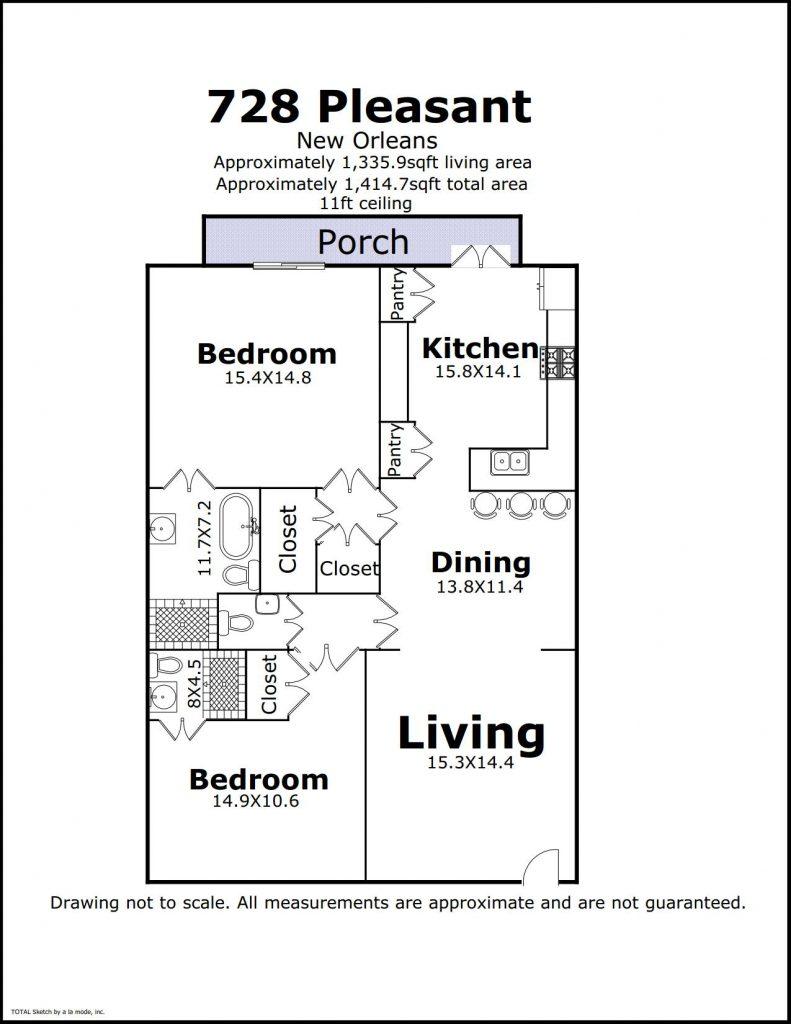 728 Pleasant St floorplan