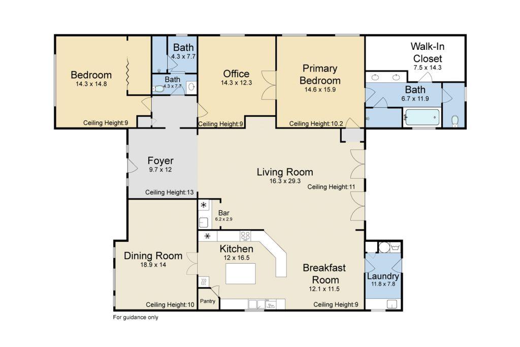 14 Chalstrom Dr River Ridge floor plan