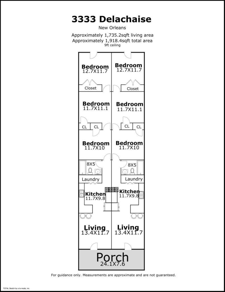 3333-3335 delachaise floorplan