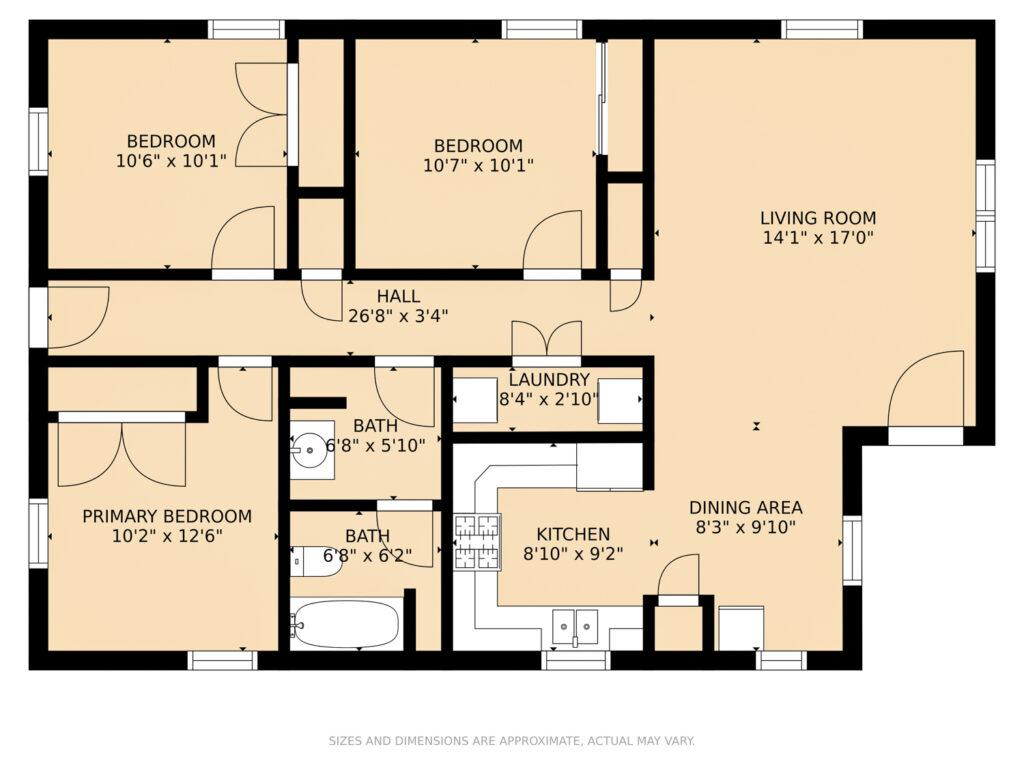 912 W 31st Ave Covington LA floorplan